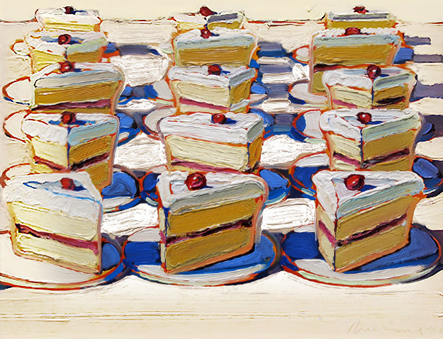 Wonderingmind Studio: Wayne Thiebaud - Boston Cremes, 1962