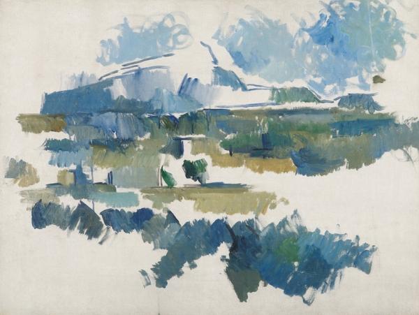 Paul Cézanne La Montagne Sainte-Victoire vue des Lauves