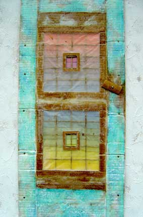 Wonderingmind Studio: Miriam Louisa Simons, window - Uttarkashi