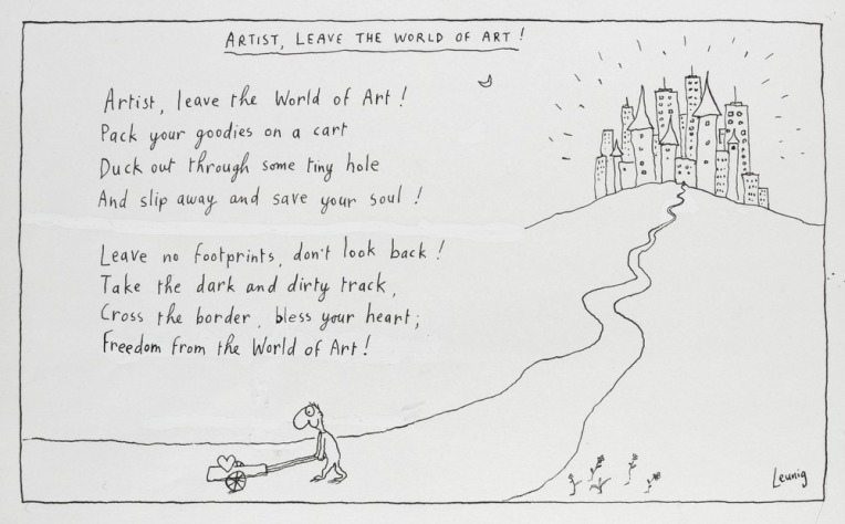 Michael Leunig: Artist leave the world of art