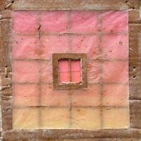 Wonderingmind Studio: Miriam Louisa Simons, window, Uttarkashi, detail