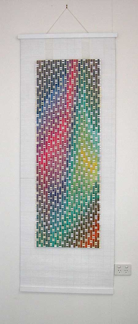 Wonderingmind Studio: Miriam Louisa Simons, Silk Banner