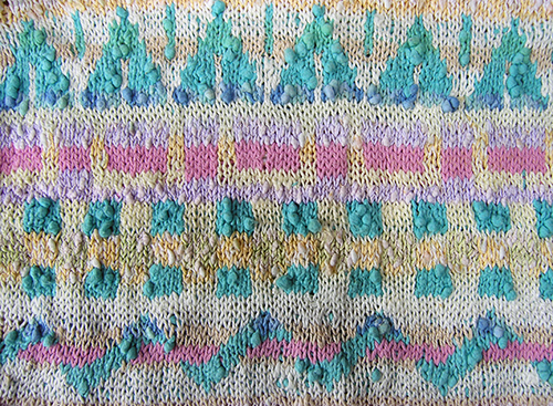 Fair Isle jumper - detail