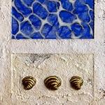 Miriam Louisa Simons: La Madonna Blu, detail